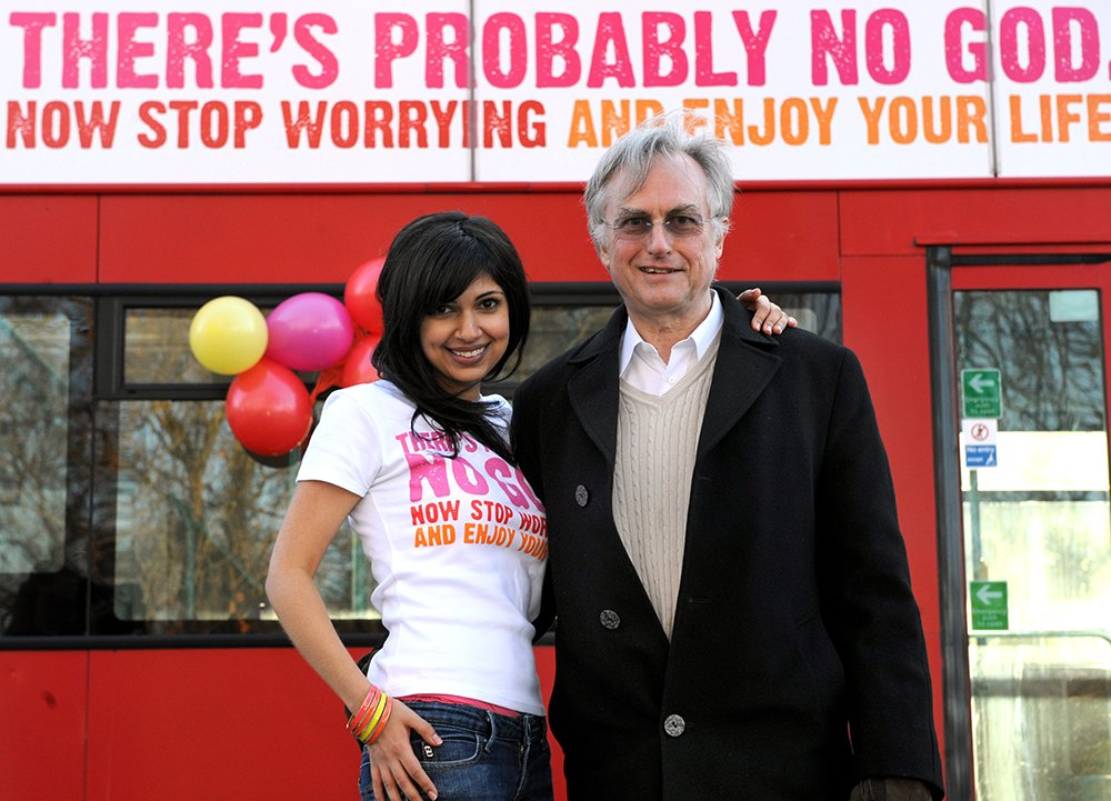 Ariane Sherine, founder of the Atheist Bus Campaign