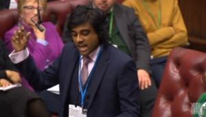 Hari Parekh spoke last in the debate.