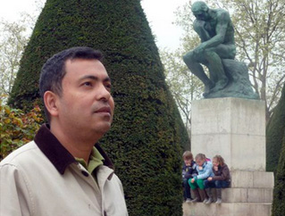Avijit Roy, founder of the Mukto-Mona ('Free Mind') blogging platform, who died in a brutal attack yesterday.