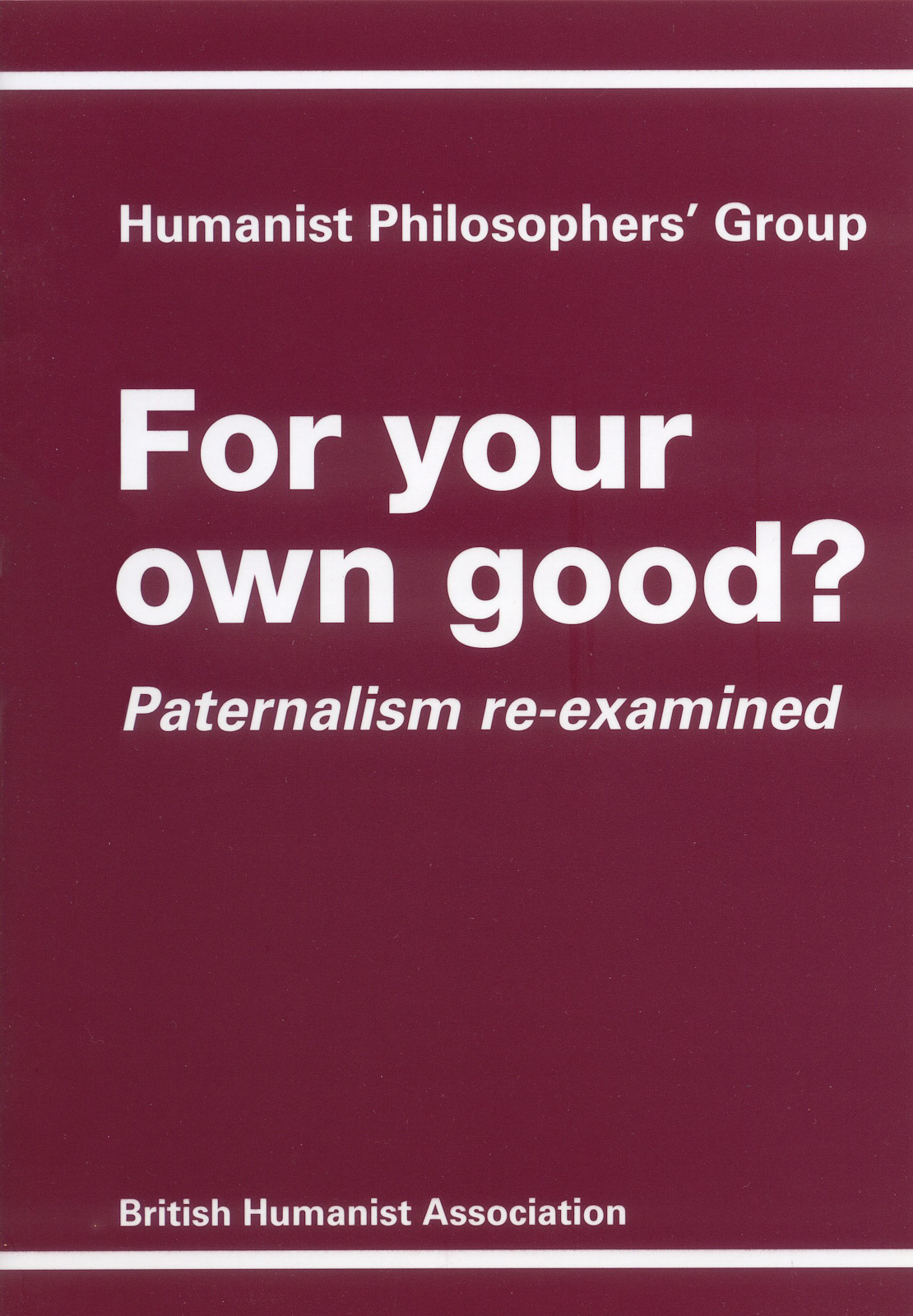 philosophy books british humanist association for