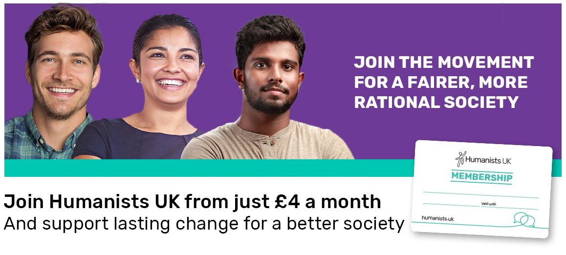 Join Humanists UK from just £4 a month